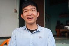 Nam sinh khiếm thị giành học bổng toàn phần Đại học Fulbright Việt Nam