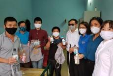 Thanh niên Hội Người mù Việt Nam chung tay cùng cộng đồng phòng chống dịch viêm đường hô hấp cấp do chủng mới của virus Corona (Covid-19).